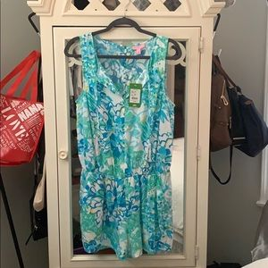 Lilly Pulitzer Tybee Romper Size Large. NWT!!!